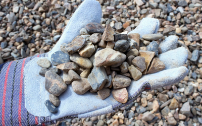 river rock gravel